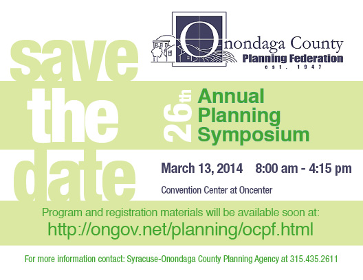 Save the Date: OCPF Symposium March 13, 2014