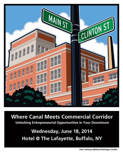 Where Canal Meets Commercial Corridor